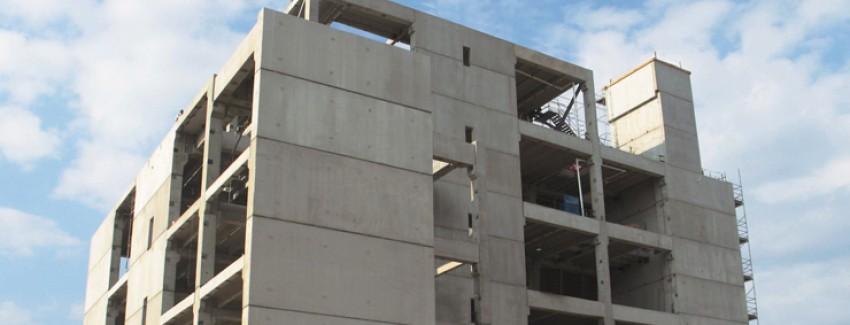 Precast Wall Systems : Precast concrete panels as shear walls